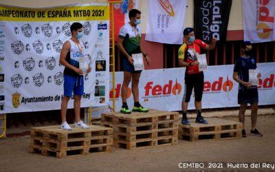 El deportista mellariense Juan Sanz consigue el subcampeonato de España 2021 de orientación en bici ( MTBO) en la modalidad sprint