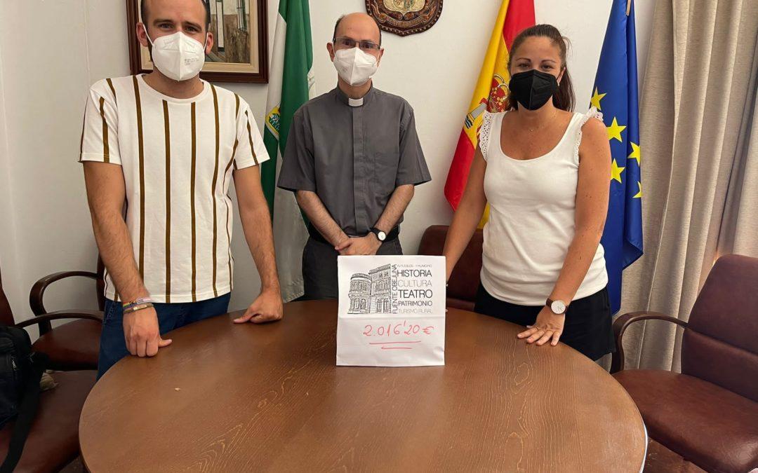"""Actividades solidarias, festivas y culturales en Fuente Obejuna para ayudar a un vecino y a la Residencia de ancianos """"Los Ángeles"""" organizadas por el Ayuntamiento."""