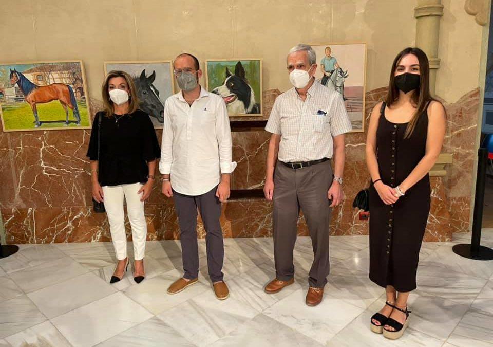 Inaugurada la exposición de pinturas al óleo de Emilio Cuenca Alejandre en el Palacete Modernista de Fuente Obejuna